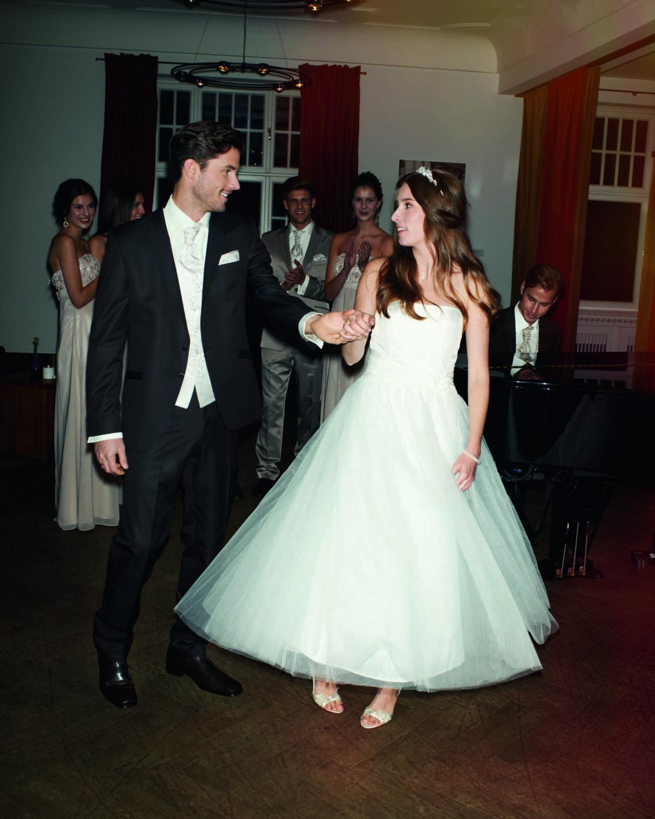 Schritt für Schritt ins Eheleben