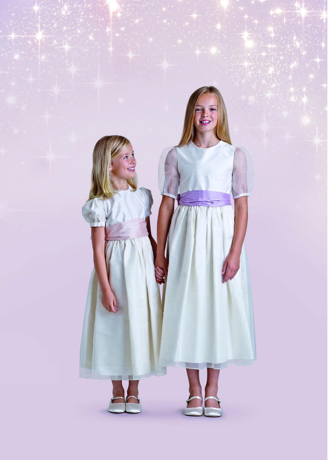Mini-Brautkleider für die Kleinen