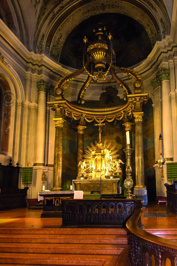 St. Ignaz Mainz Altar