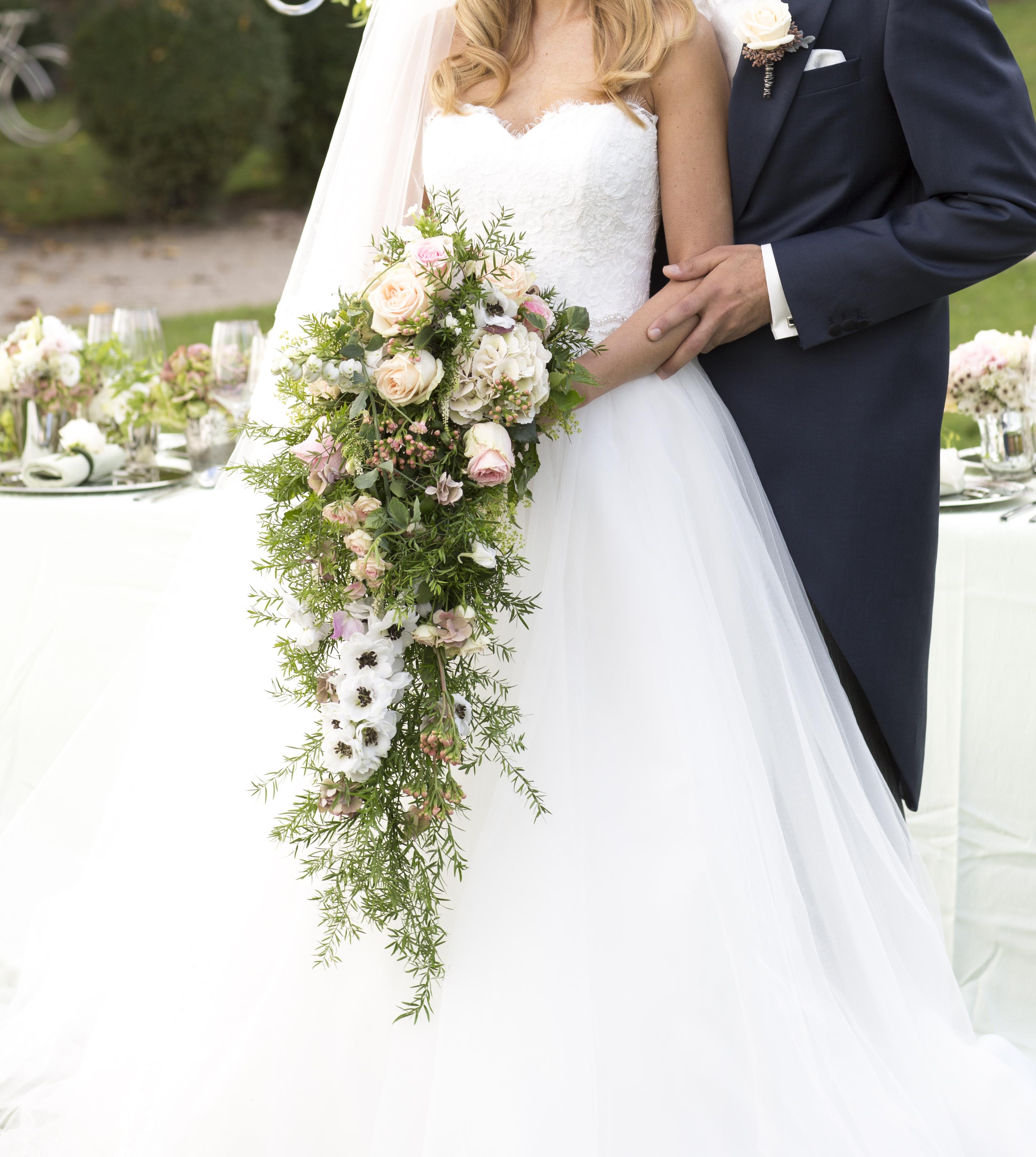 Blumiger Luxus Heiraten Hochzeit