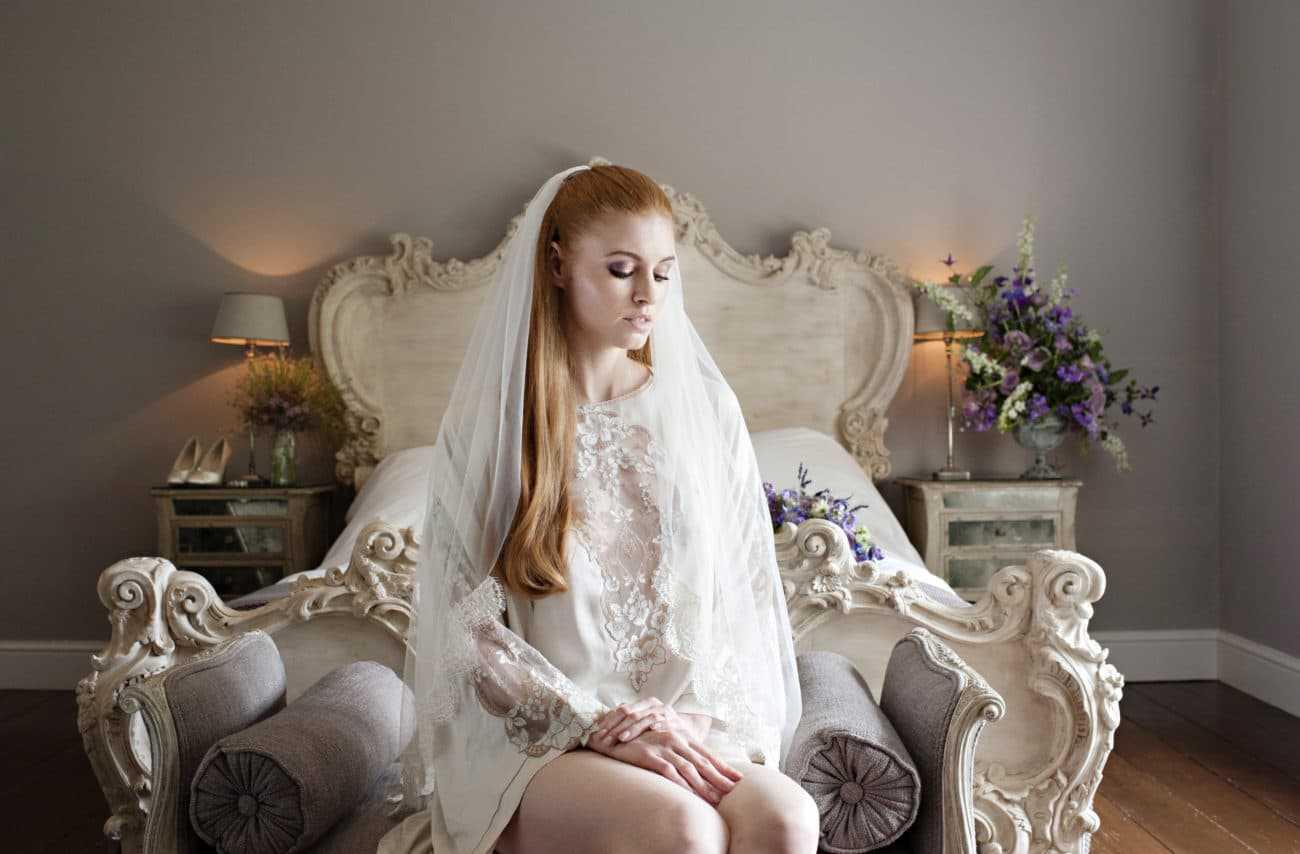 Geheimnisvoll: Brautschleier