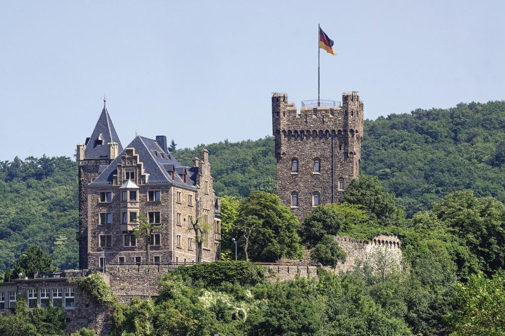 Rhein / Bingen / Burg Klopp