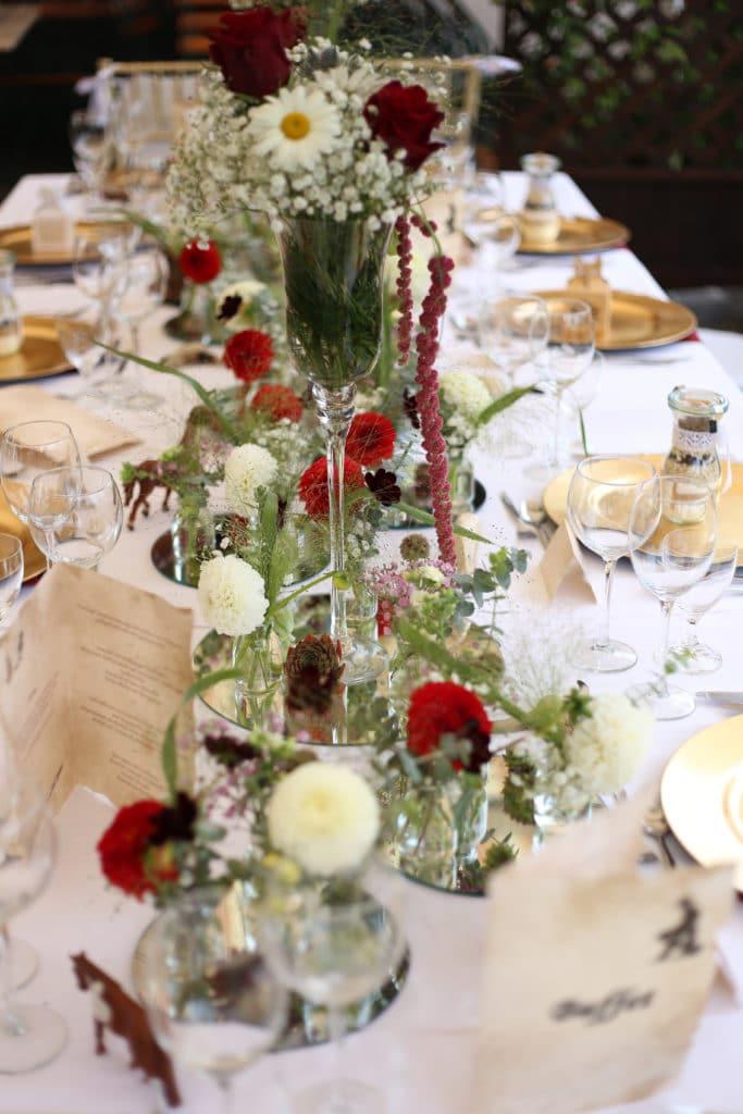 Country Hochzeit Tisch