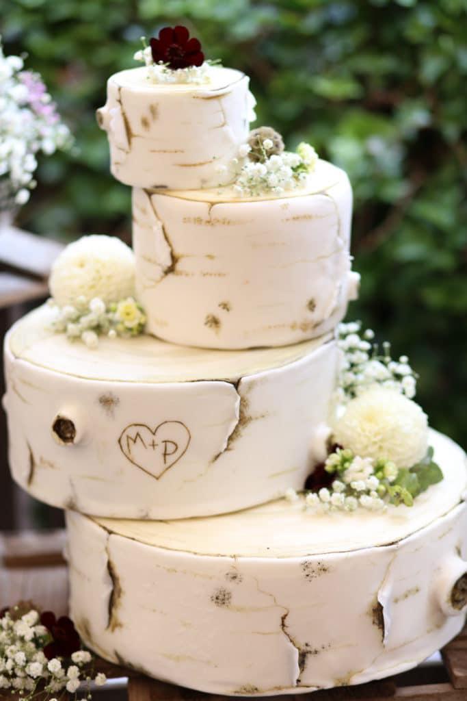Country Hochzeit Hochzeitstorte