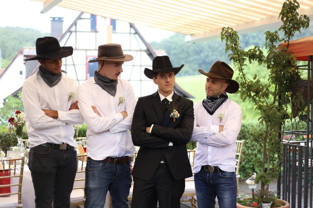 Country Hochzeit Trauzeuge