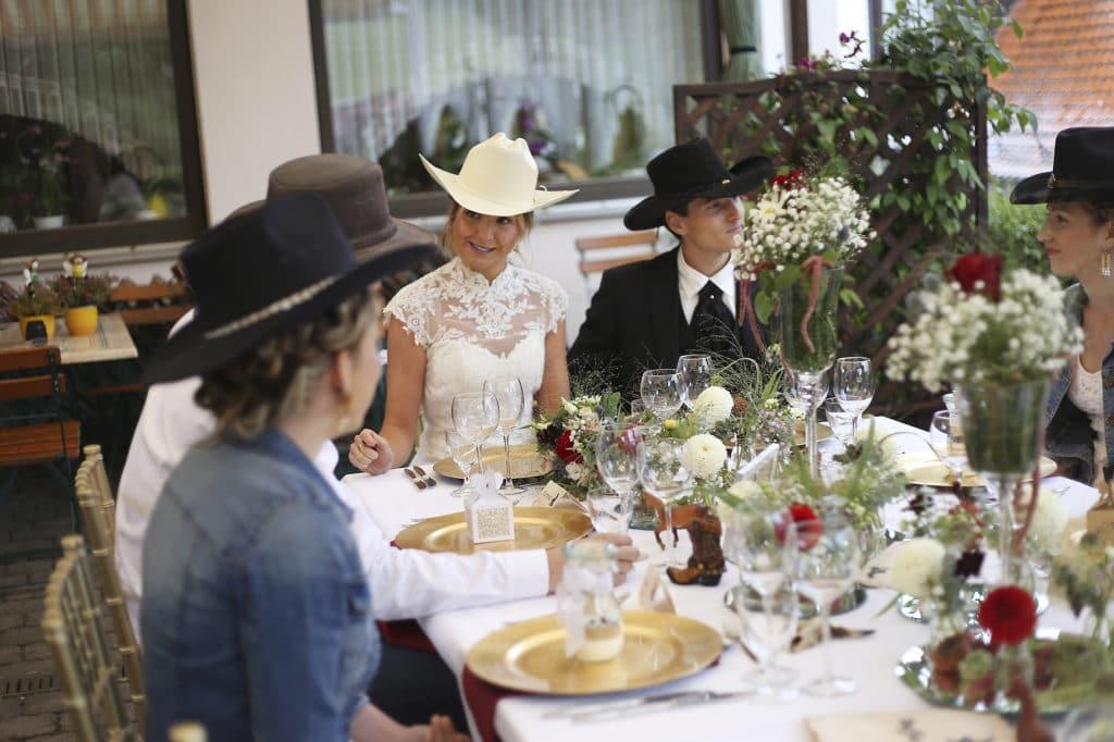 Country Hochzeit Hochzeitstafel