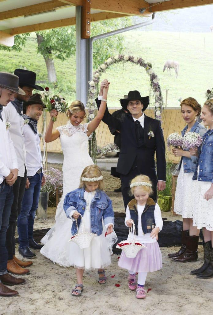 Country Hochzeit Trauung