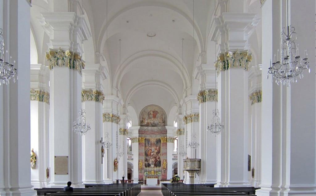 Jesuitenkirche Heidelberg c) Helmut Voss.www.helmutvoss.de
