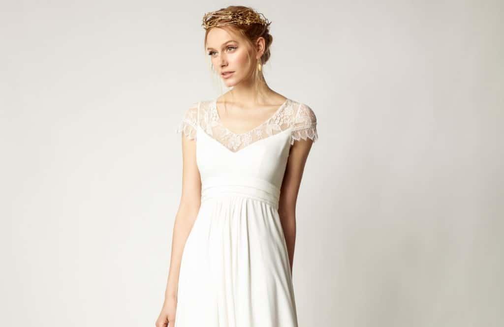 Im Empire Brautkleid zur Göttin für einen Tag - Heiraten & Hochzeit