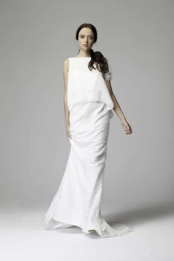 Das Lina Becker Brautkleid überzeugt durch Purismus - Heiraten ...
