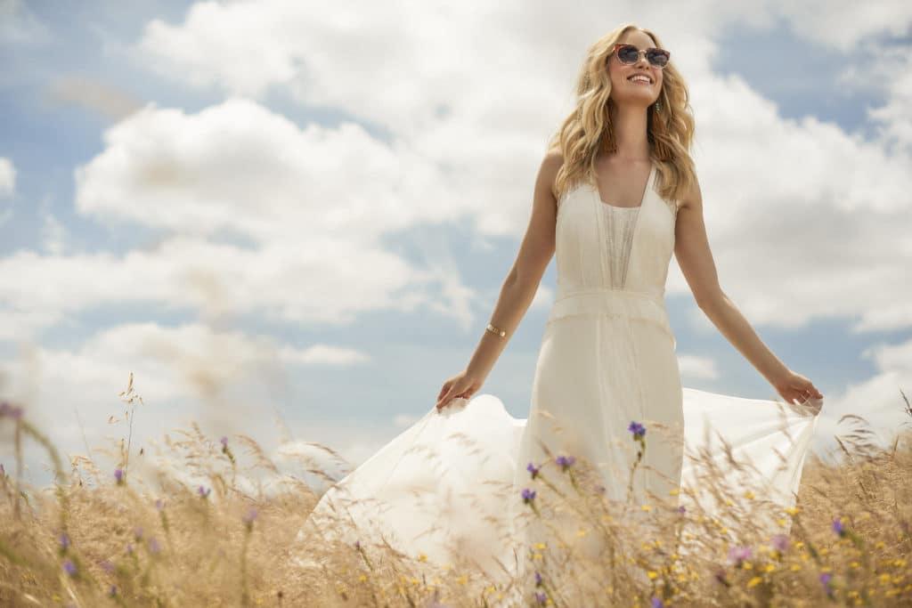 Ein Rembo Styling Brautkleid In Drei Worten Vintage Boho