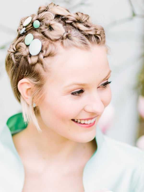 Schicke Brautfrisuren Fur Kurze Haare Heiraten Hochzeit