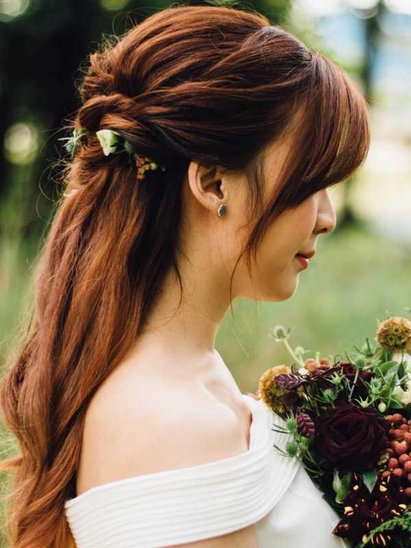 Die schönsten Brautfrisuren für lange Haare - Heiraten & Hochzeit