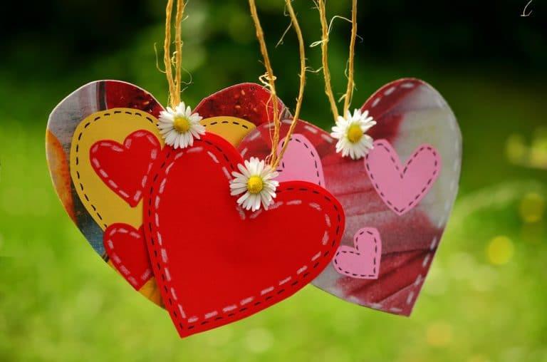 Von Herzen kommende Hochzeitswünsche kurz gehalten
