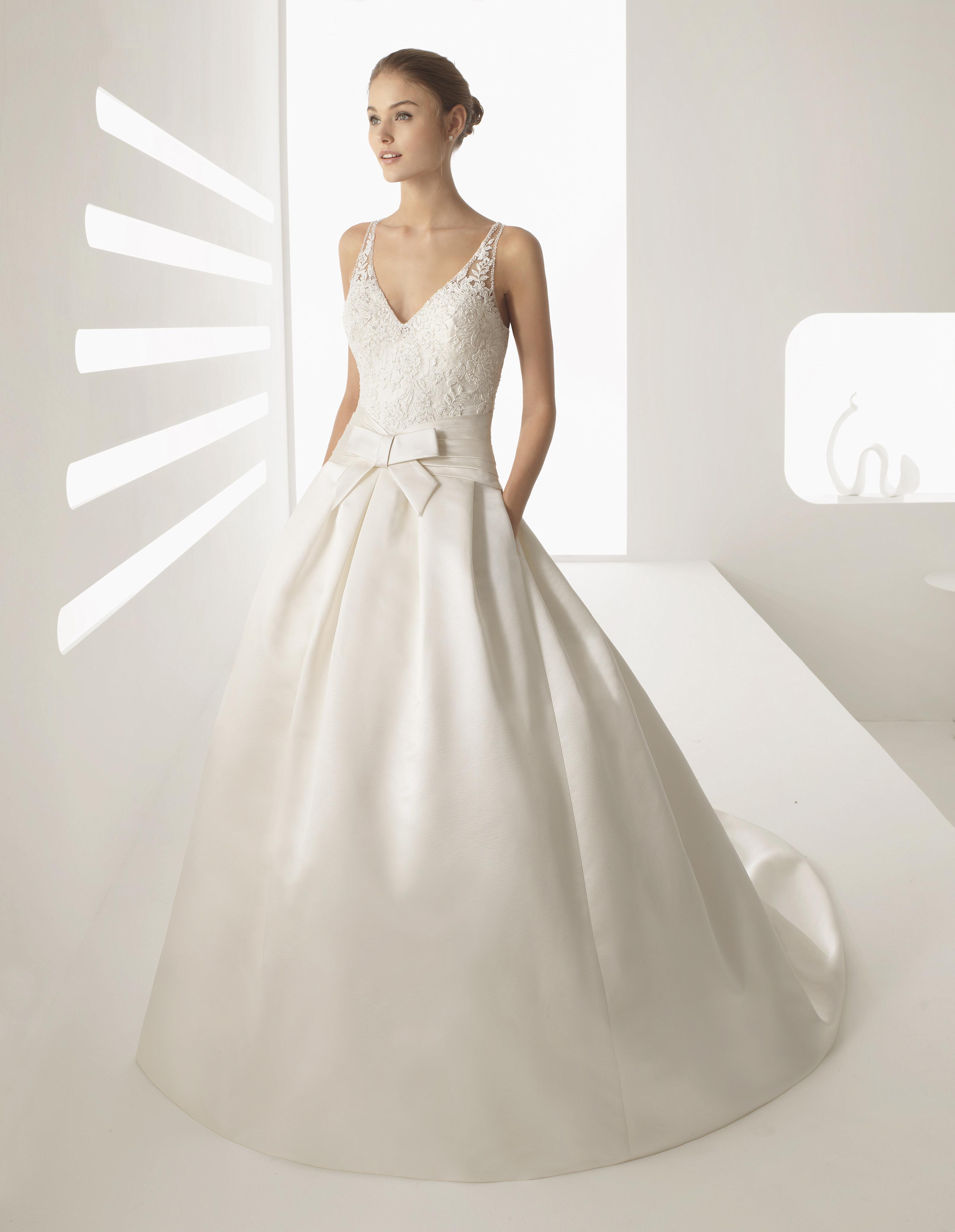Das Rosa Clara Brautkleid 2018 - Heiraten & Hochzeit