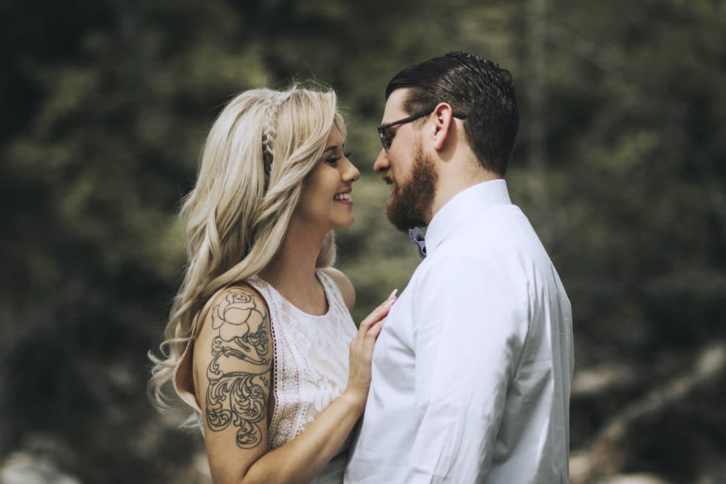 Tattoo Brautkleid