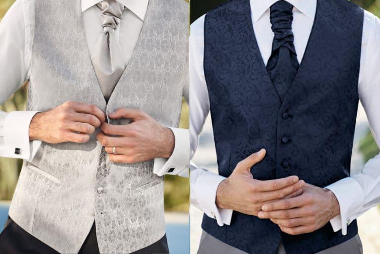 Hochzeitsanzug und Weste: Perfekt im Trio