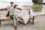 Ein legerer Hochzeitsanzug