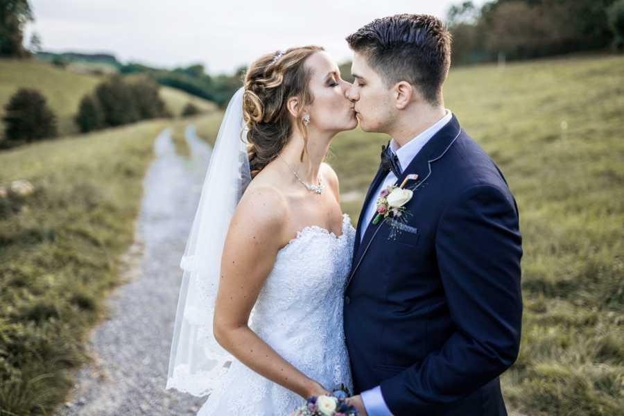 real wedding story