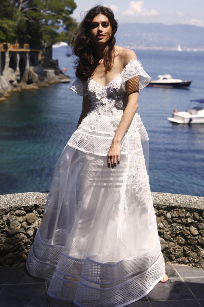 Brautkleid 3d-flora