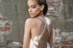 Ein Brautkleid mit 3D-Flora