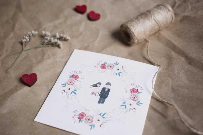 Hochzeitskarten selber machen