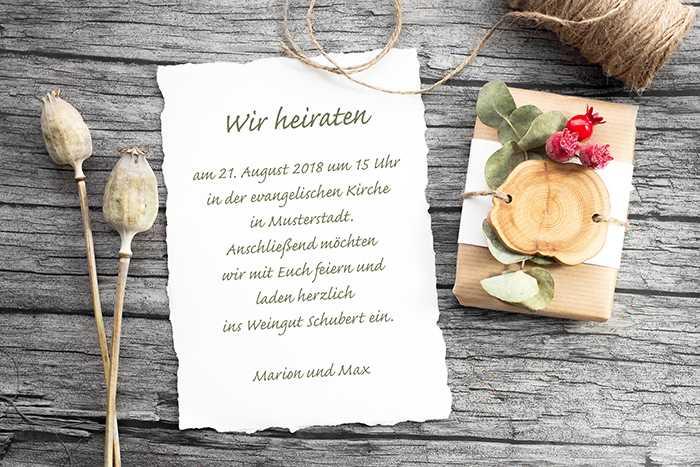 Mustertexte Hochzeitseinladung