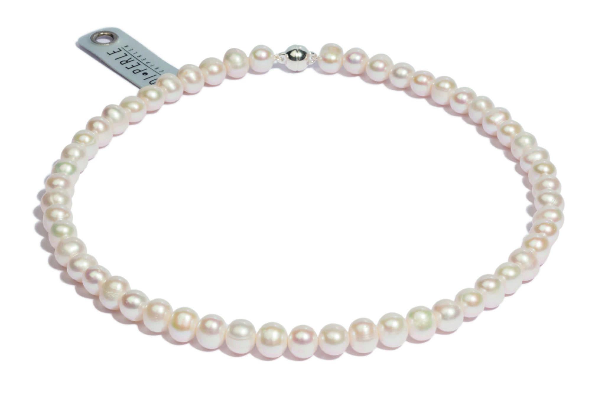Klassisches Perlenarmband von DI PERLE